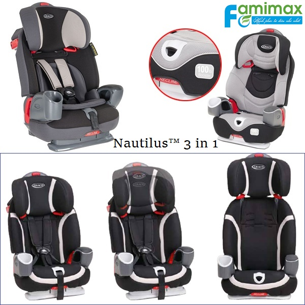 Ghế ngồi ô to Graco Nautilus All In One