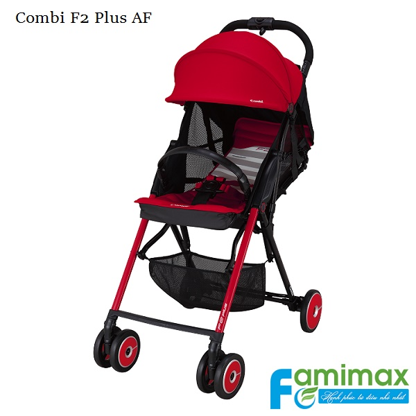 Xe đẩy du lịch Combi F2 Plus AF Red