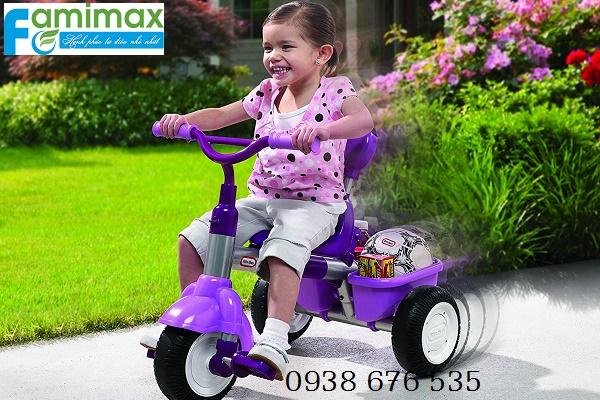 Có nên mua xe đạp 3 bánh cho bé?