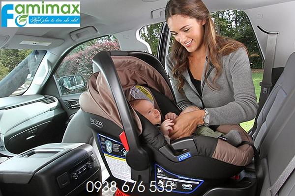Cách sử dụng ghế ngồi ô tô cho bé?