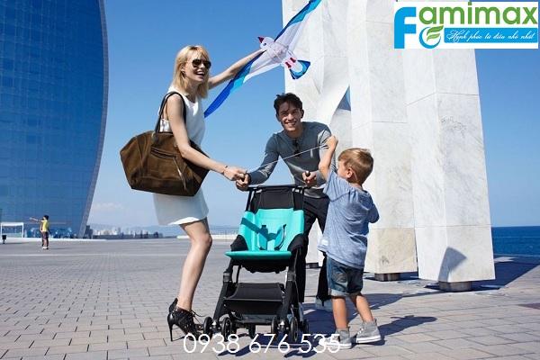 Xe đẩy trẻ em đi du lịch tốt nhất?