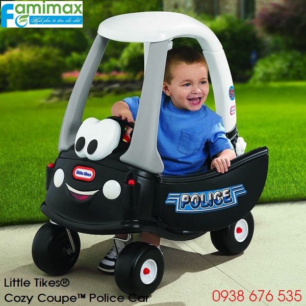 Xe chòi chân Little Tikes Cozy Coupe Police Car