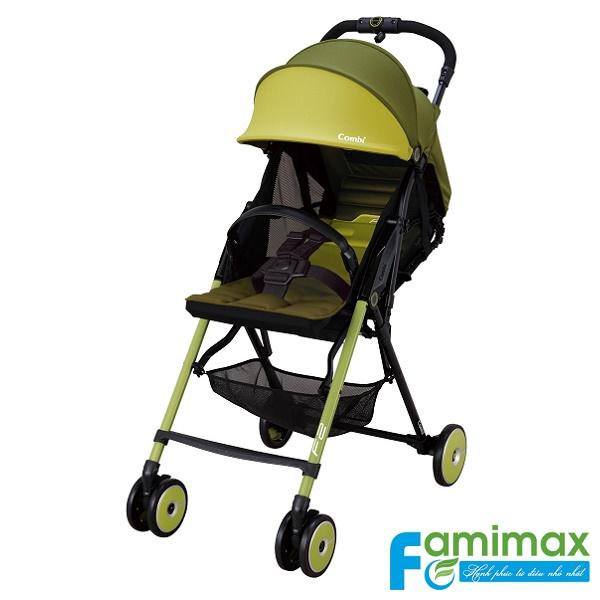 Xe đẩy em bé Combi F2 Plus AD-450 xanh lá