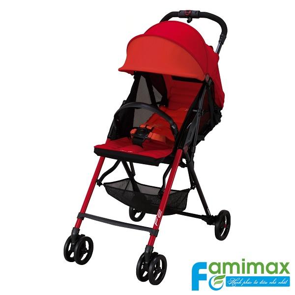 Xe đẩy em bé Combi F2 Plus AD-450 màu đỏ