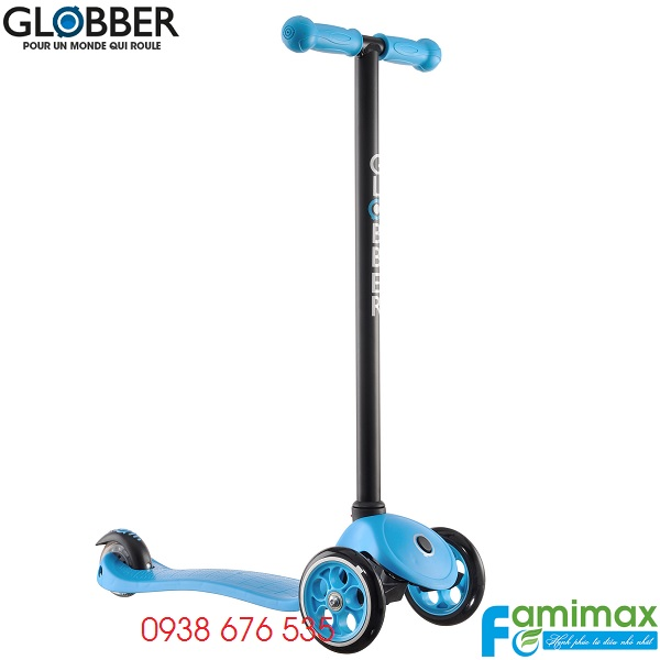 Xe scooter 3 bánh Globber My Free Fixed Xanh da trời
