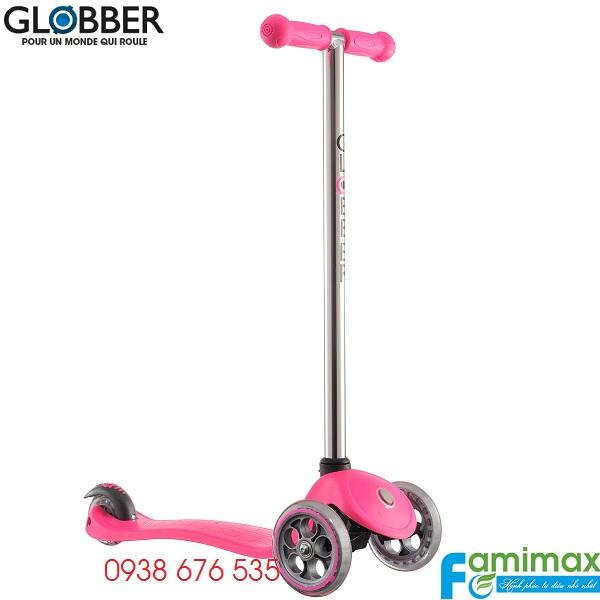 Xe scooter 3 bánh Globber My Free Fixed Hồng